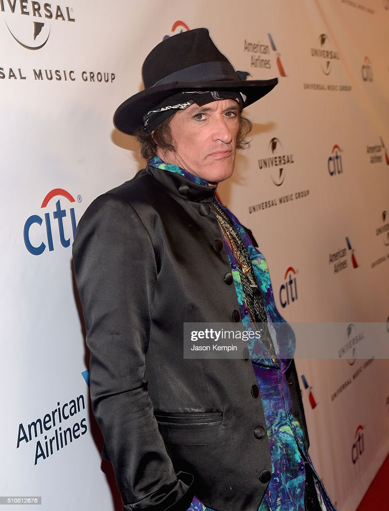 Musician Joe Perry attends Universal Music Group 2016 Grammy After Party presented by American Airlines and Citi at The Theatre at Ace Hotel Downtown LA on February 15, 2016 in Los Angeles, California.