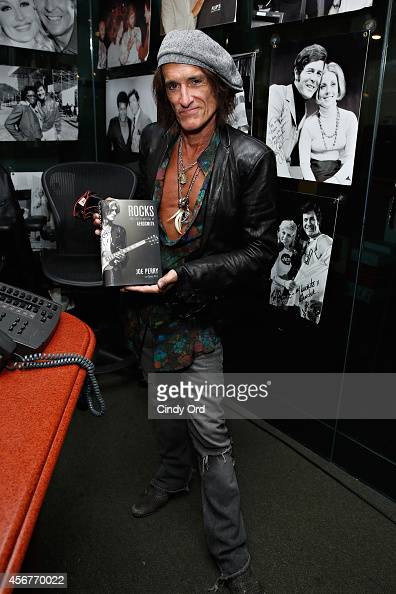 Musician Joe Perry visits the SiriusXM Studios on October 6 2014 in New York City