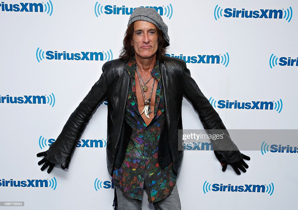 Musician Joe Perry visits the SiriusXM Studios on October 6, 2014 in New York City.