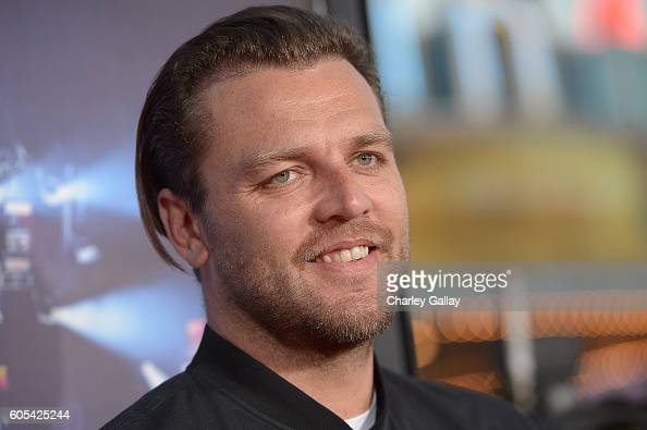 Musician Joel Houston attends the 'Hillsong Let Hope Rise' premiere at the Westwood Village theater on September 13 2016 in Los Angeles California