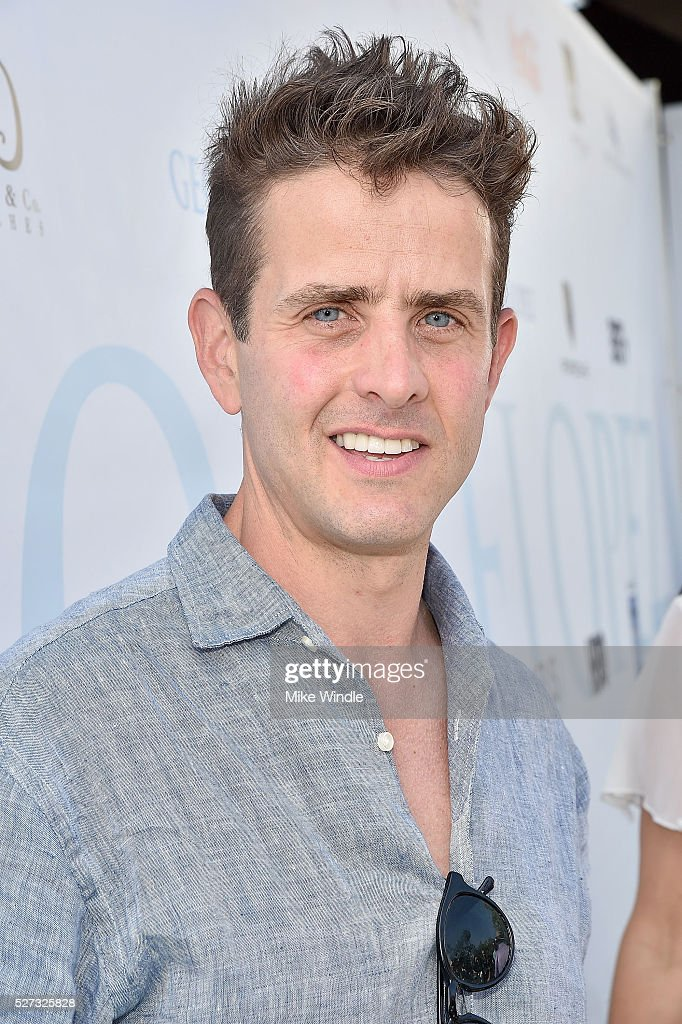 Musician Joey McIntyre attends the 9th Annual George Lopez Celebrity Golf Classic to benefit The George Lopez Foundation at Lakeside Golf Club on May 2, 2016 in Burbank, California.