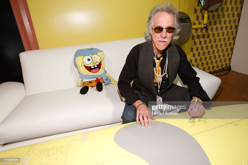 Musician John Densmore of The Doors visits Nickelodeon at Village at The Yard in on January 17, 2009 in Park City, Utah.
