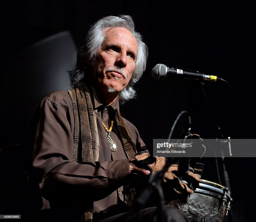 Musician John Densmore performs onstage at the Film Independent at LACMA Presents An Evening With The Doors event at Bing Theatre At LACMA on December 5, 2013 in Los Angeles, California.