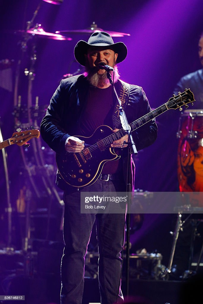Musician John Driskell Hopkins of Zac Brown Band performs onstage during the 2016 iHeartCountry Festival at The Frank Erwin Center on April 30, 2016 in Austin, Texas.