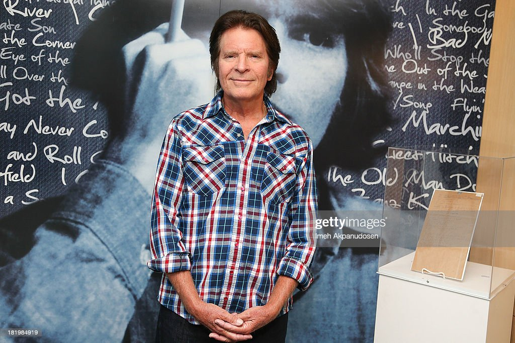 Musician John Fogerty attends the 'John Fogerty: Wrote A Song For Everyone' Exhibit at The GRAMMY Museum on September 26, 2013 in Los Angeles, California.