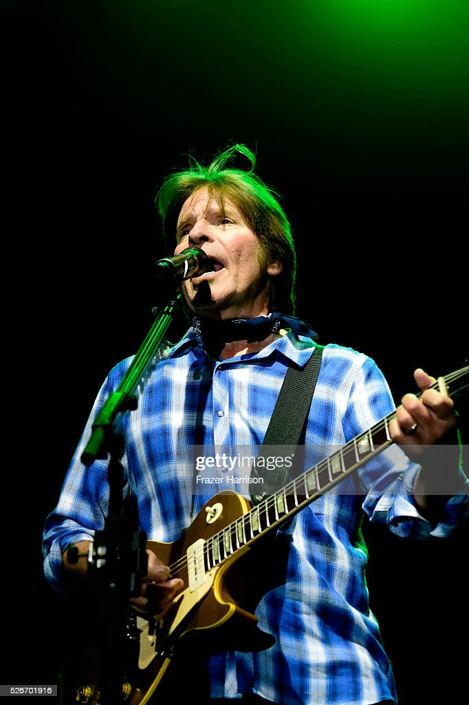 Musician John Fogerty performs during 2016 Stagecoach California's Country Music Festival at Empire Polo Club on April 30, 2016 in Indio, California.