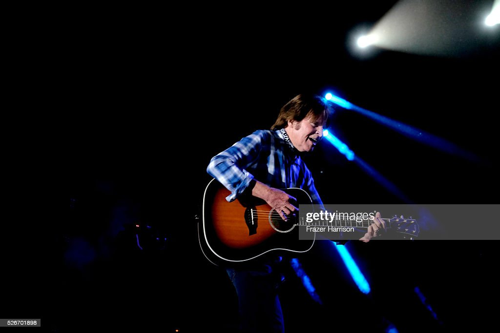 Musician John Fogerty performs onstage during 2016 Stagecoach California's Country Music Festival at Empire Polo Club on April 30, 2016 in Indio, California.