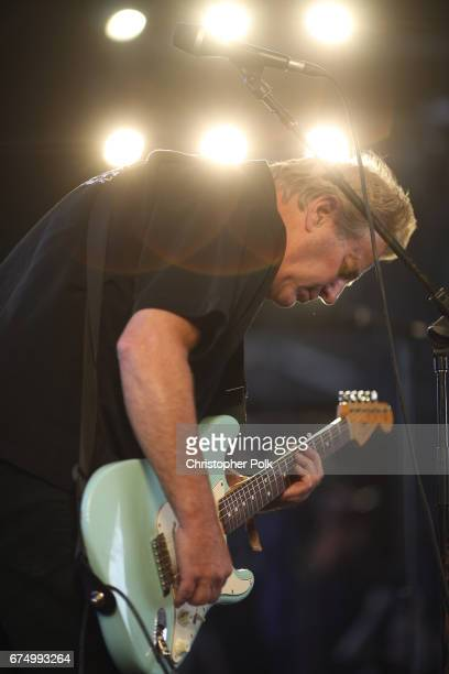 Musician John Golden of Tommy James and the Shondells performs on the Palomino Stage during day 2 of 2017 Stagecoach California's Country Music...