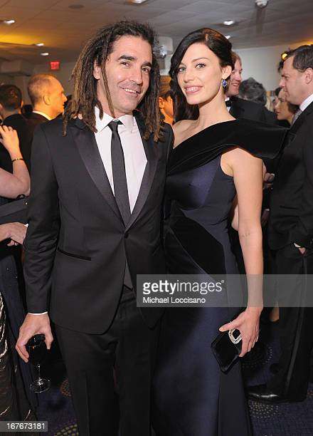 Musician John Kastner and actress Jessica Pare attend the TIME/CNN/PEOPLE/FORTUNE PreDinner Cocktail Reception at Washington Hilton on April 27 2013...