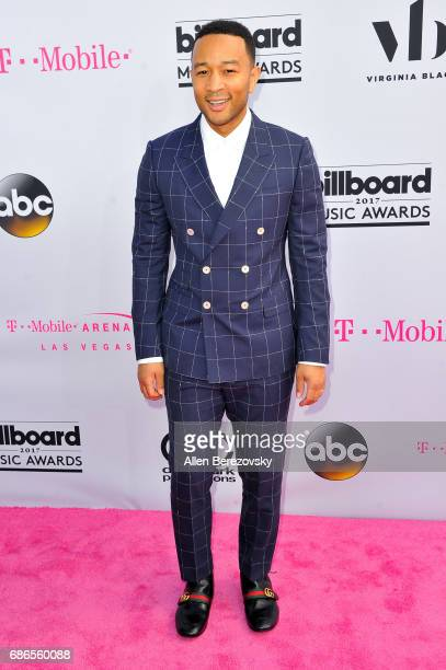 Musician John Legend arrives at 2017 Billboard Music Awards at TMobile Arena on May 21 2017 in Las Vegas Nevada