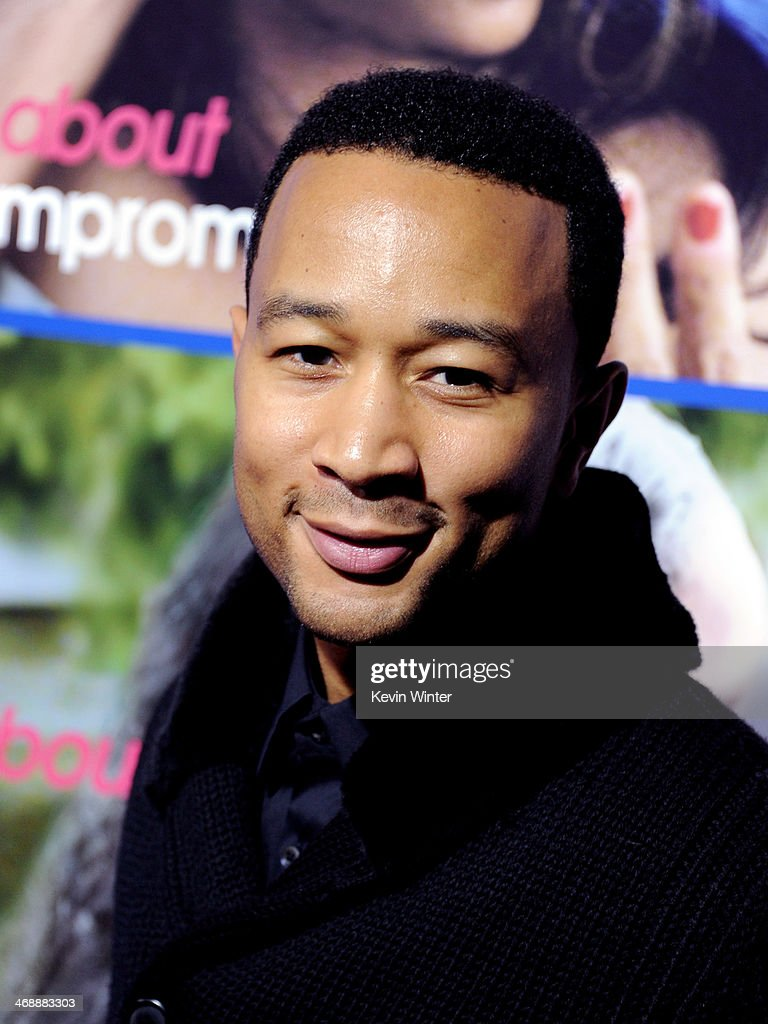 Musician <a gi-track='captionPersonalityLinkClicked' href=/galleries/search?phrase=John+Legend&family=editorial&specificpeople=201468 ng-click='$event.stopPropagation()'>John Legend</a> arrives at the Pan African Film & Arts Festival Premiere of Screen Gems' 'About Last Night' at the Cinerama Dome Theatre on February 11, 2014 in Los Angeles, California.