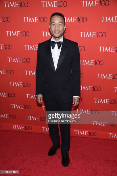 Musician John Legend attends the 2017 Time 100 Gala at Jazz at Lincoln Center on April 25 2017 in New York City