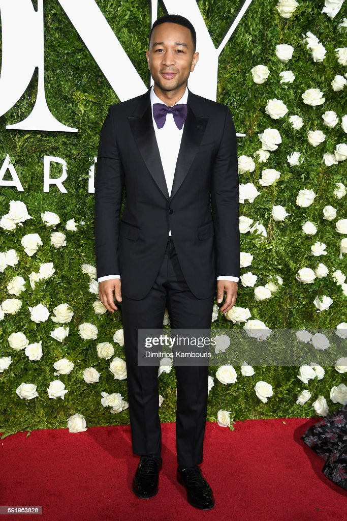 Musician John Legend attends the 2017 Tony Awards at Radio City Music Hall on June 11, 2017 in New York City.