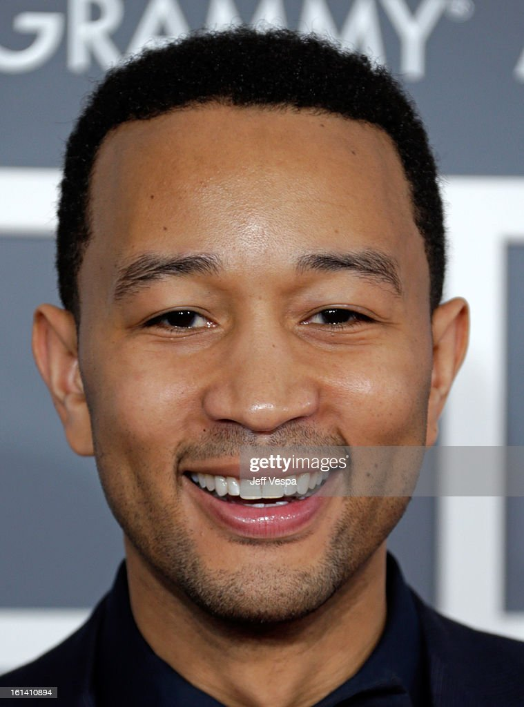 Musician John Legend attends the 55th Annual GRAMMY Awards at STAPLES Center on February 10, 2013 in Los Angeles, California.