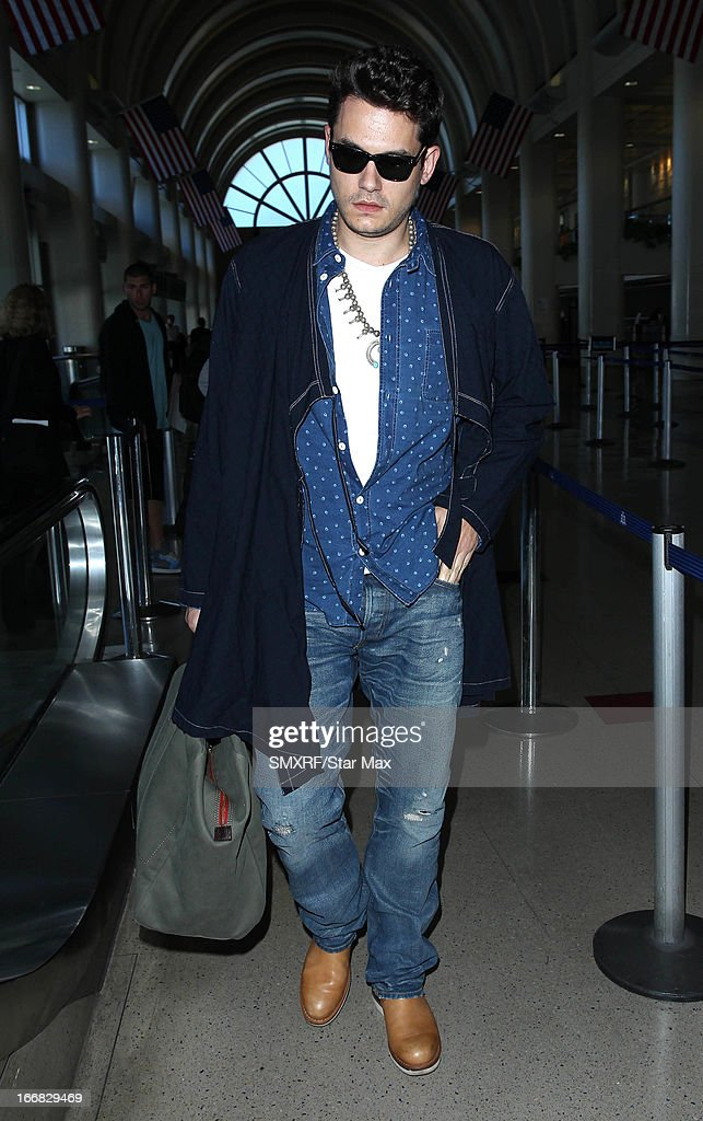 Musician John Mayer as seen on April 17, 2013 in Los Angeles, California.