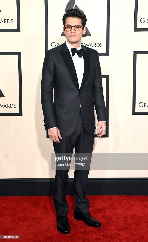 Musician <a gi-track='captionPersonalityLinkClicked' href=/galleries/search?phrase=John+Mayer&family=editorial&specificpeople=201930 ng-click='$event.stopPropagation()'>John Mayer</a> attends The 57th Annual GRAMMY Awards at the STAPLES Center on February 8, 2015 in Los Angeles, California.