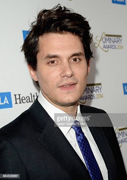 Musician John Mayer attends the UCLA Head and Neck Surgery Luminary Awards at the Beverly Wilshire Four Seasons Hotel on January 22 2014 in Beverly...