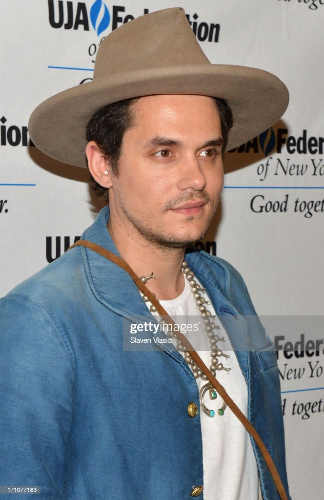 Musician John Mayer attends UJA-Federation Of New York Music Visionary Of The Year Award Luncheon at The Pierre Hotel on June 21, 2013 in New York City.