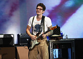 Musician John Mayer performs on the Marilyn Stage during day 2 of the 2014 Budweiser Made in America Festival at Los Angeles Grand Park on August 31...