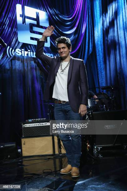 Musician John Mayer performs onstage at 'Howard Stern's Birthday Bash' presented by SiriusXM produced by Howard Stern Productions at Hammerstein...