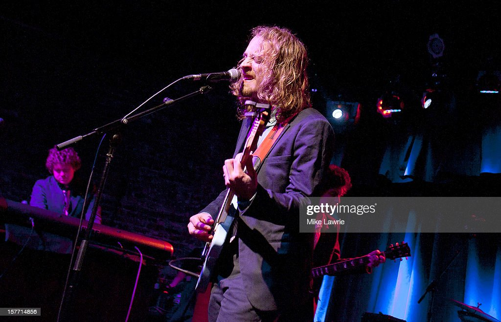 Musician John McCauley of Deer Tick performs at Brooklyn Bowl on December 5, 2012 in New York City.