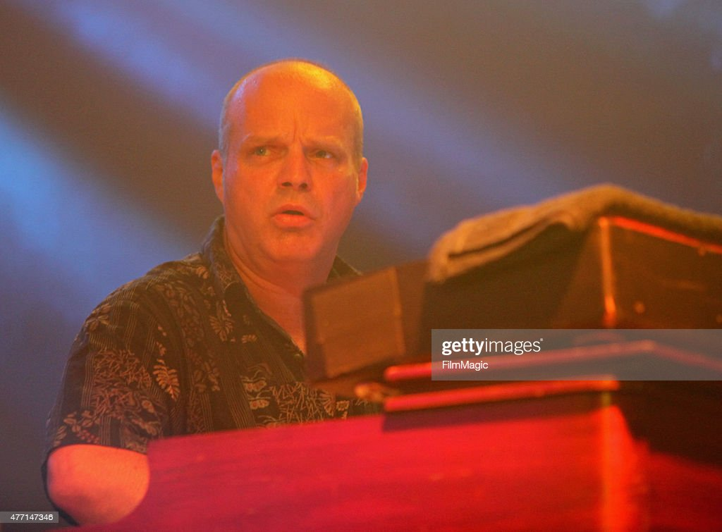 Musician John Medeski performs onstage at The Other Tent as part of the SuperJam during Day 3 of the 2015 Bonnaroo Music And Arts Festival on June 13...