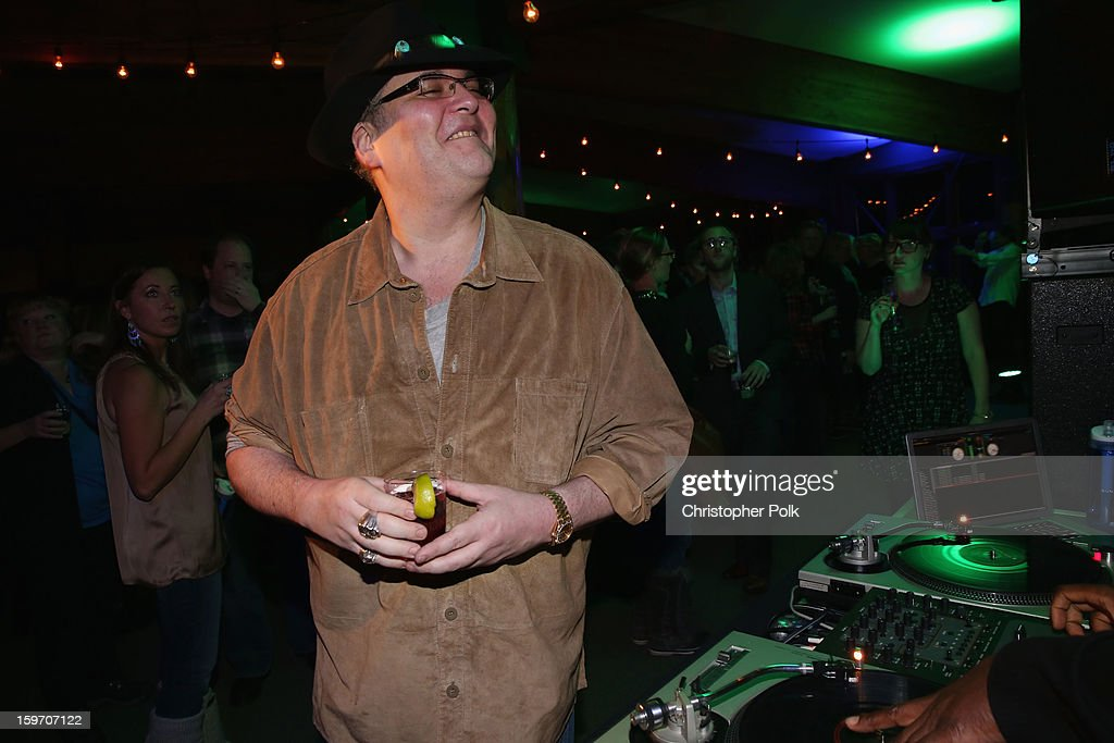 Musician <a gi-track='captionPersonalityLinkClicked' href=/galleries/search?phrase=John+Popper&family=editorial&specificpeople=1523132 ng-click='$event.stopPropagation()'>John Popper</a> of Blues Traveler at Brita at Sundance Film Festival on January 18, 2013 in Park City, Utah.