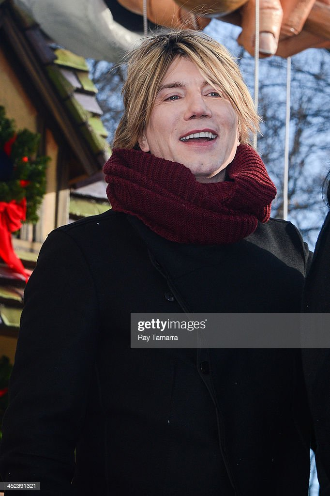 Musician John Rzeznik of Goo Goo Dolls attends the 87th Annual Macy's Thanksgiving Day Parade on November 28, 2013 in New York City.
