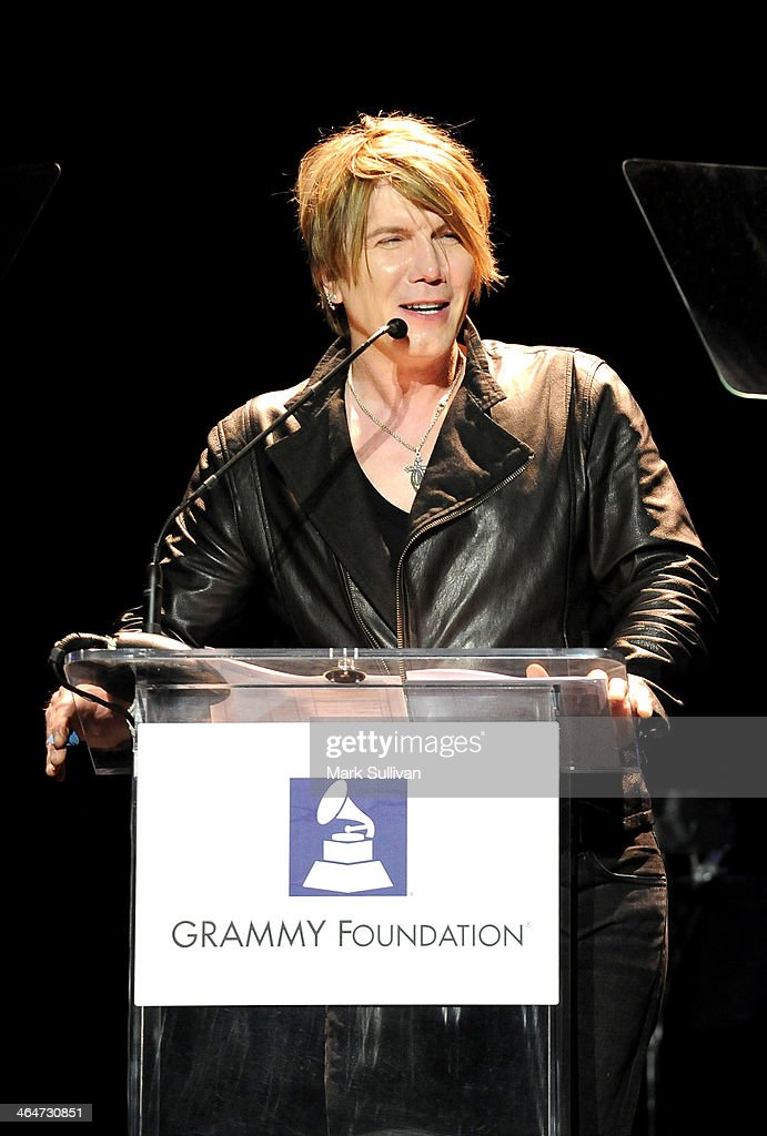Musician John Rzeznik speaks at 'A Song Is Born' the 16th Annual GRAMMY Foundation Legacy Concert held at the Wilshire Ebell Theater on January 23...