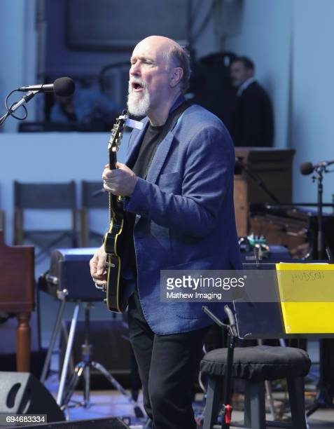 Musician John Scofield of the band Hudson performs onstage at the Hollywood Bowl Presents the 39th Anniversary Playboy Jazz Festival at the Hollywood...