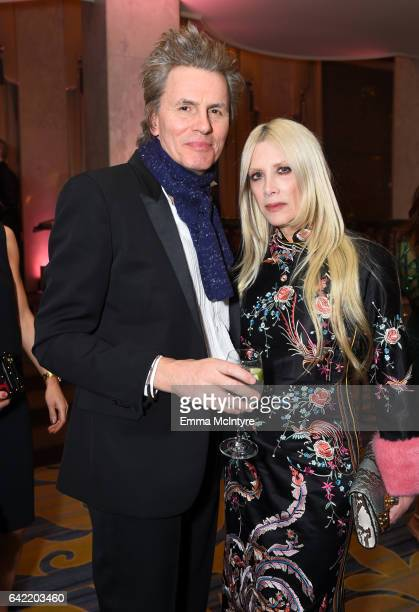 Musician John Taylor and designer Gela Nash attend WCRF's 'An Unforgettable Evening' presented by Saks Fifth Avenue at the Beverly Wilshire Four...