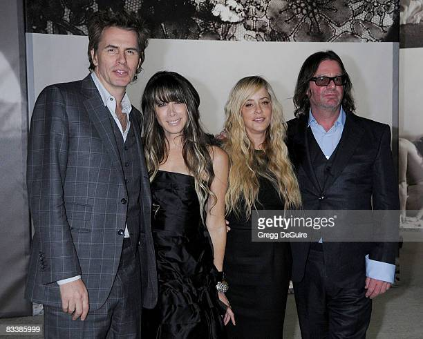 Musician John Taylor Wife Gela NashTaylor Pamela SkaistLevy and Husband writer/director/producer Jefery Levy arrive at the 'Vanity Fair Portraits...