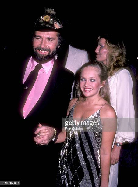 Musician Johnny Lee and Actress Charlene Tilton attend the 10th Annual American Music Awards on January 17 1983 at Shrine Auditorium in Los Angeles...