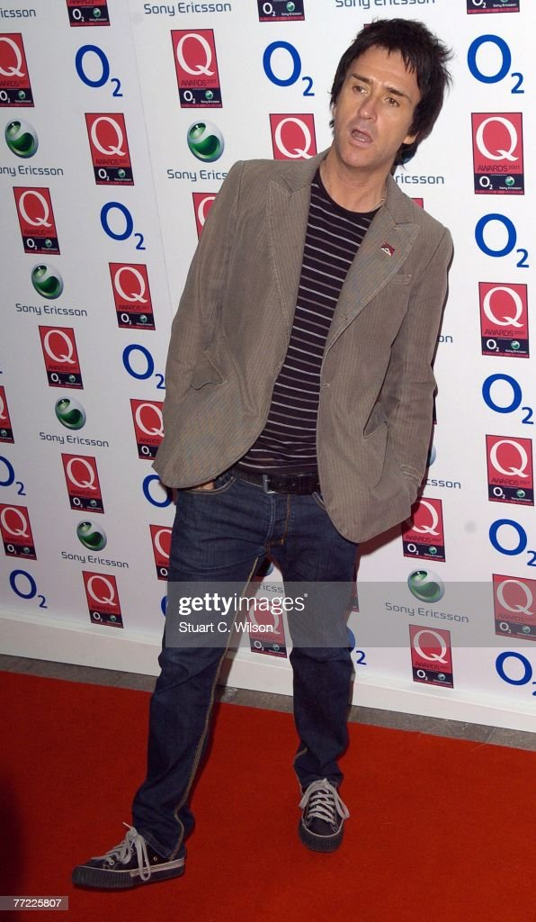 Musician Johnny Marr attends the Q Awards 2007 at the Grosvenor House Park Lane on October 08 2007 in London England