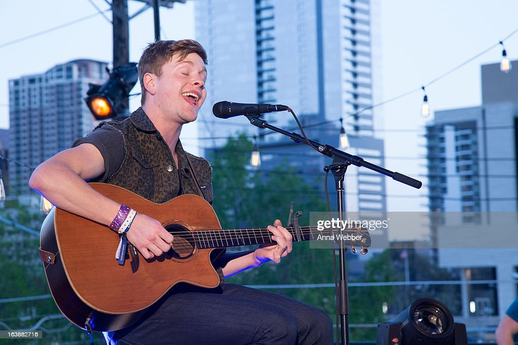 Musician Johnny Stimson performs during DIRECTV And AUDIENCE Network's Road To Rogue Party on March 16, 2013 in Austin, Texas.