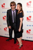 Musician Jon Bon Jovi and Dorothea Bon Jovi attend DKMS' 4th Annual Gala Linked Against Leukemia at Cipriani 42nd Street on April 29 2010 in New York...