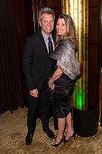 Musician Jon Bon Jovi and Dorothea Bon Jovi attend the 5th Annual Irish Eyes Gala at JW Marriott Essex House on March 16 2015 in New York City