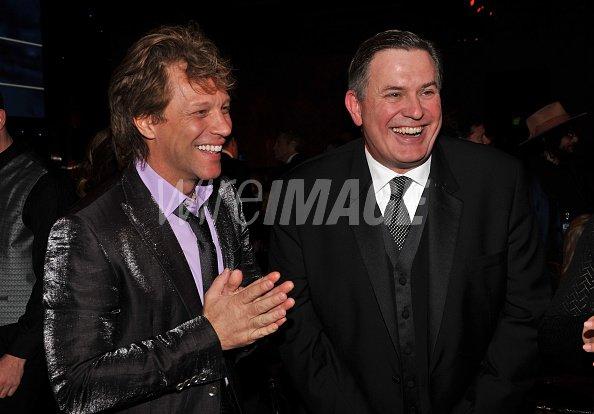 Musician Jon Bon Jovi and...