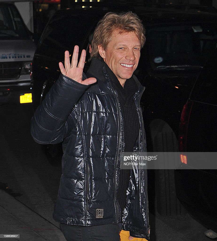 Musician Jon Bon Jovi as seen on December 20, 2012 in New York City.