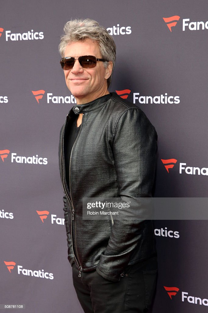 Musician <a gi-track='captionPersonalityLinkClicked' href=/galleries/search?phrase=Jon+Bon+Jovi&family=editorial&specificpeople=201527 ng-click='$event.stopPropagation()'>Jon Bon Jovi</a> attends Fanatics Super Bowl Party on February 6, 2016 in San Francisco, California.