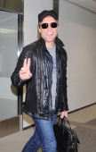 Musician Jon Bon Jovi is seen upon arrival at Narita International Airport on December 2 2013 in Narita Japan