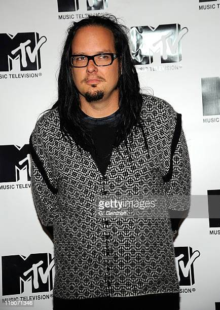 Musician Jonathan Davis of Korn attends MTV's TRL 'Total Finale Live' at the MTV Studios in Times Square on November 16 2008 in New York City