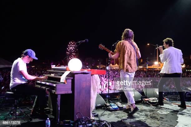Musician Jonathan Russell of The Head and the Heart performs at the Fitz's Stage during 2017 Hangout Music Festival on May 20 2017 in Gulf Shores...