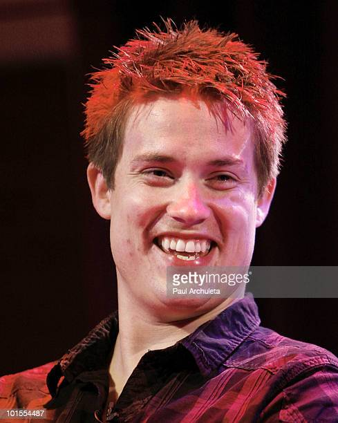 Musician Jonny Lang attends the QA for the Grammy Museums presentation of Guitar Greats at The GRAMMY Museum on June 1 2010 in Los Angeles California
