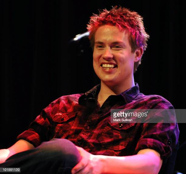 Musician Jonny Lang discusses his career at The GRAMMY Museum on June 1 2010 in Los Angeles California