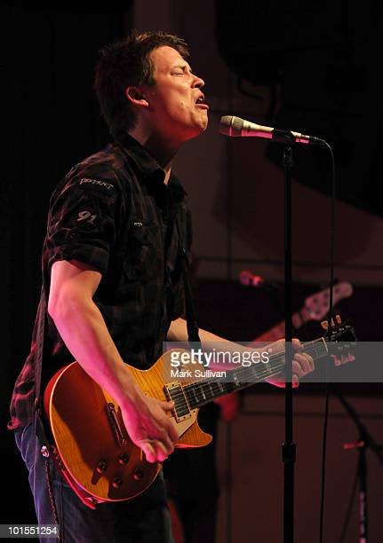 Musician Jonny Lang performs at The GRAMMY Museum on June 1 2010 in Los Angeles California