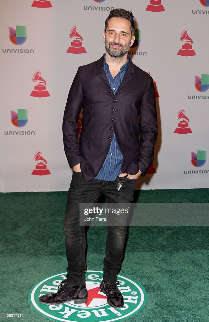Musician Jorge Drexler attends the 15th annual Latin GRAMMY Awards at the MGM Grand Garden Arena on November 20 2014 in Las Vegas Nevada