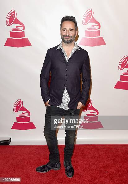 Musician Jorge Drexler attends the 2014 Person of the Year honoring Joan Manuel Serrat at the Mandalay Bay Events Center on November 19 2014 in Las...