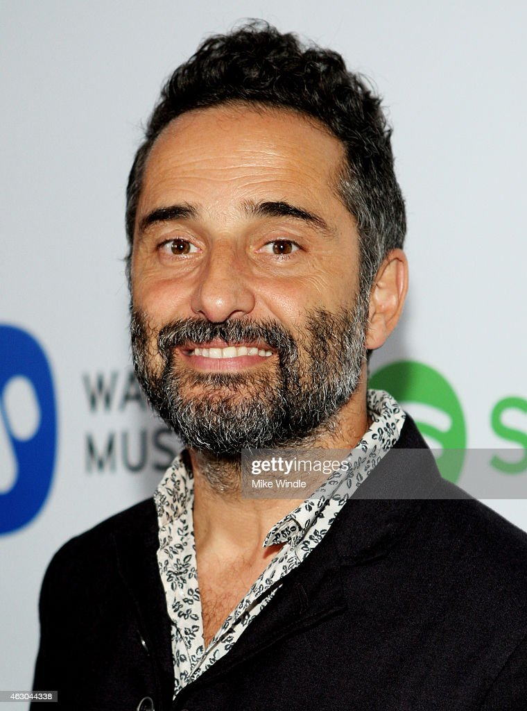 Musician Jorge Drexler attends the Warner Music Group annual Grammy celebration at Chateau Marmont on February 8 2015 in Los Angeles California