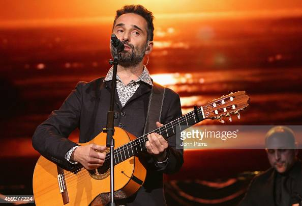 Musician Jorge Drexler performs onstage during the 2014 Person of the Year honoring Joan Manuel Serrat at the Mandalay Bay Events Center on November...